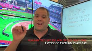 Free MLB Sports Picks, Predictions and Parlays for Saturday 7/25/2020