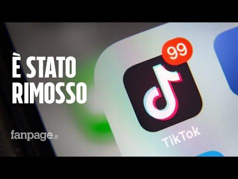 TikTok è stato rimosso da Hong Kong ed è a rischio anche negli USA