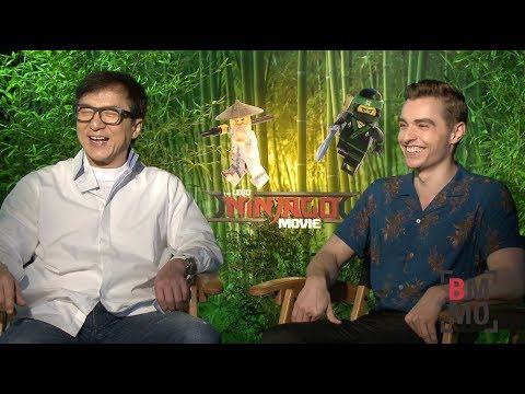 Jackie Chan & Dave Franco Interview - The LEGO Ninjago Movie