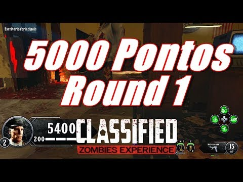 Easter Egg 5000 Pontos Round 1 - Classified Bo4 Zombies Pt Br