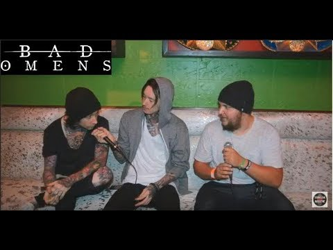 Bad Omens Interview: Noah and Vincent chat band history, Sumerian 10 Yr Tour and Christopher Walkin