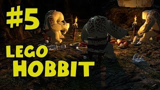 Lego The Hobbit Walkthrough Part 5 - Trollshaws - Lego Hobbit The Video Game Gameplay
