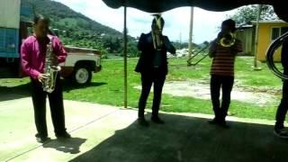 Banda Pequeños de Chichiquila,Pue Evento en Sn.Antonio  Xochimilc
