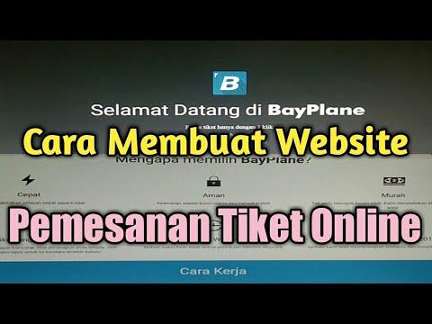 cara-membuat-website-pemesanan-tiket-online