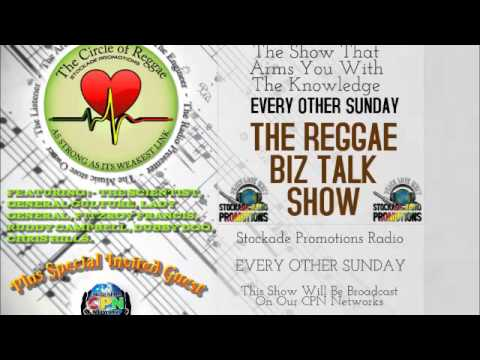The Reggae Biz Talk Show. (Fifth Show)