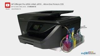 HP OfficeJet Pro 6950, 6960, 6970 Modify to CISS  HP 905, 902, 903, 904