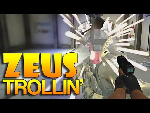CS:GO - Zeus TROLLING! #9