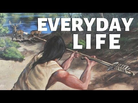 Everyday Life For Georgia's Native Americans