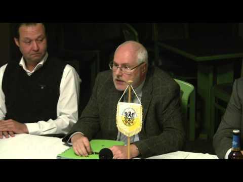 Pressekonferenz des NFV Gelb-Weiß Görlitz 09