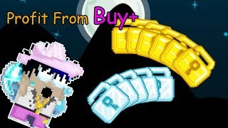 Getting Tons of Profit From Buy+ World Growtopia Gameplay