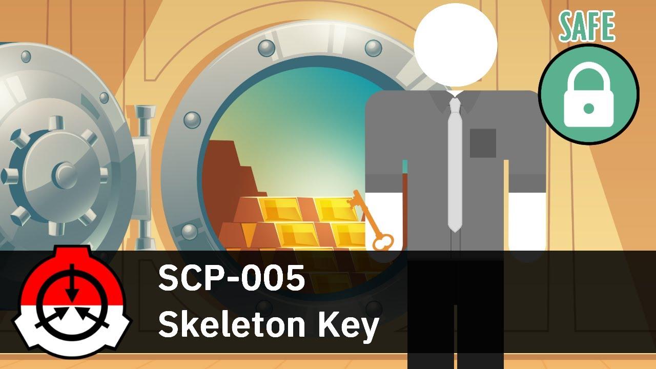 """Kunci Ajaib Pembuka Semua Gembok - SCP-005 """"Skeleton Key"""""""