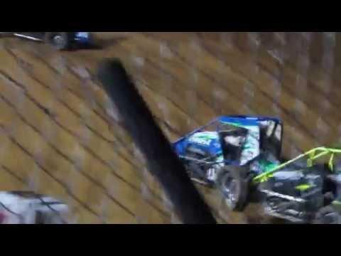 Clyde Martin Memorial Speedway USAC Heat 8/16/2016