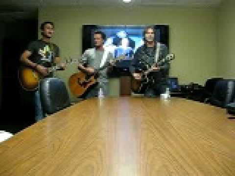 "Love and Theft ""Ring of Fire"" at KKNG Radio in Oklahoma City"