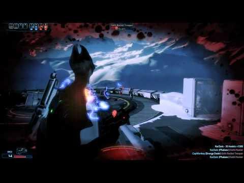 Mass Effect 3 - Salarian Task Group (STG) vs Golden Geth Corps