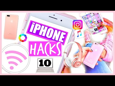 10 iPhone Life Hacks EVERYONE Needs to Know! | NEW iPhone 7 Plus Life Hacks + iOS 10 Features