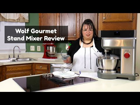 Wolf Gourmet Stand Mixer Review   7 Quart 500 Watts Stand Mixer   Whipping, Mixing And Bread Dough
