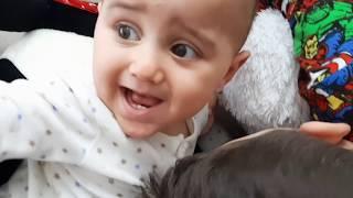 أرحان تنقذ توأمتها من الحمم البركانية !! the floor is lava