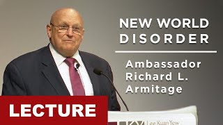 [Lecture] Ambassador Richard L. Armitage - New World disorder