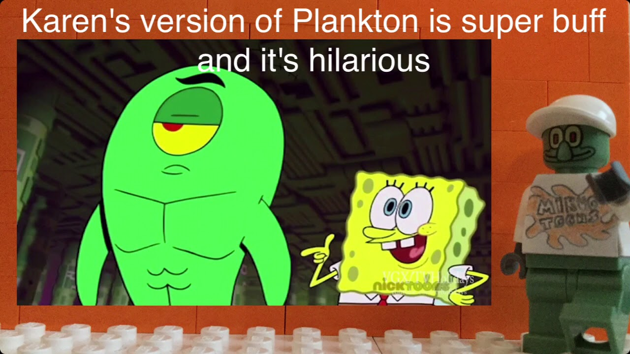 buff plankton and sick