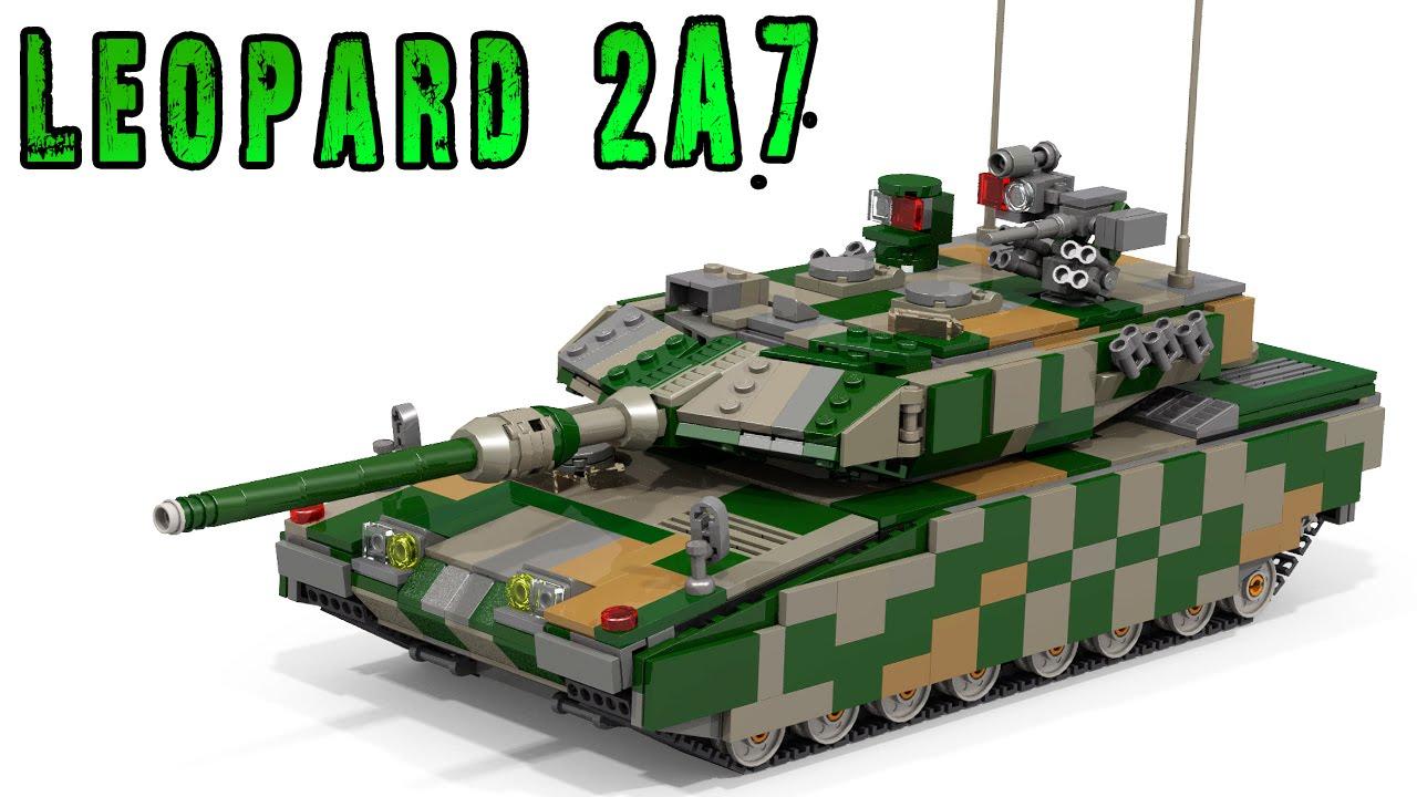 Lego leopard 2 a7 youtube lego leopard 2 a7 malvernweather Choice Image