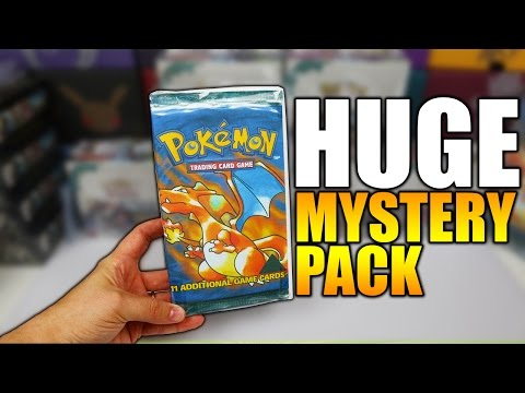 THIS THING IS HUGE! Pokemon Mystery Pack