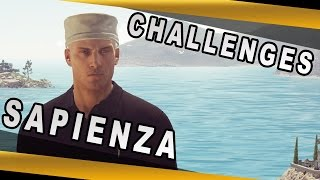 Hitman (PC) - Episode 2 - Sapienza Challenges Guide (Master Guide) - 60fps
