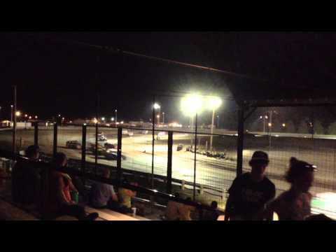 Chris Heim IMCA Mod Sherman County Speedway Feature 8 15 15
