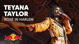 Teyana Taylor - Rose In Harlem | LIVE | Red Bull Music Festival New York