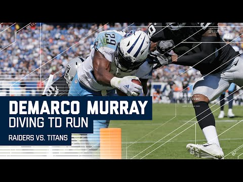 DeMarco Murray Breaks off 36-Yard Run & Dives for Red Zone TD! | Titans vs. Raiders | NFL