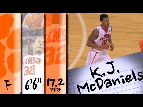 official-highlights-|-clemson-forward-k.j.-mcdaniels-(#32-pick-in-the-nba-draft,-phl-76ers)