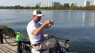 Дмитрий Сафонов - участник Кубка МАВЕР по рыболовному спорту 2018. Братеевский парк