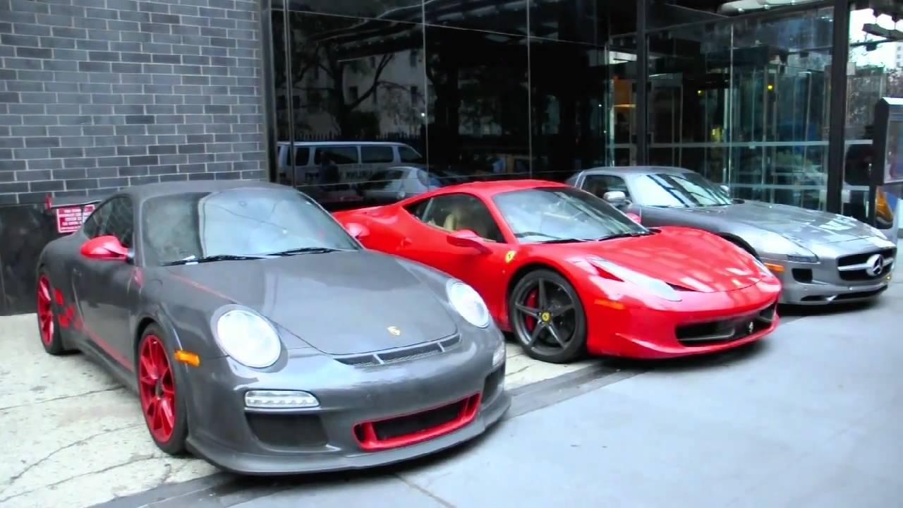 top gear cars: 458 italia, sls, gt3rs - youtube