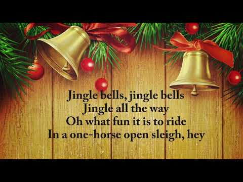 Dashing through the snow Christmas song | Jingle Bells with lyrics