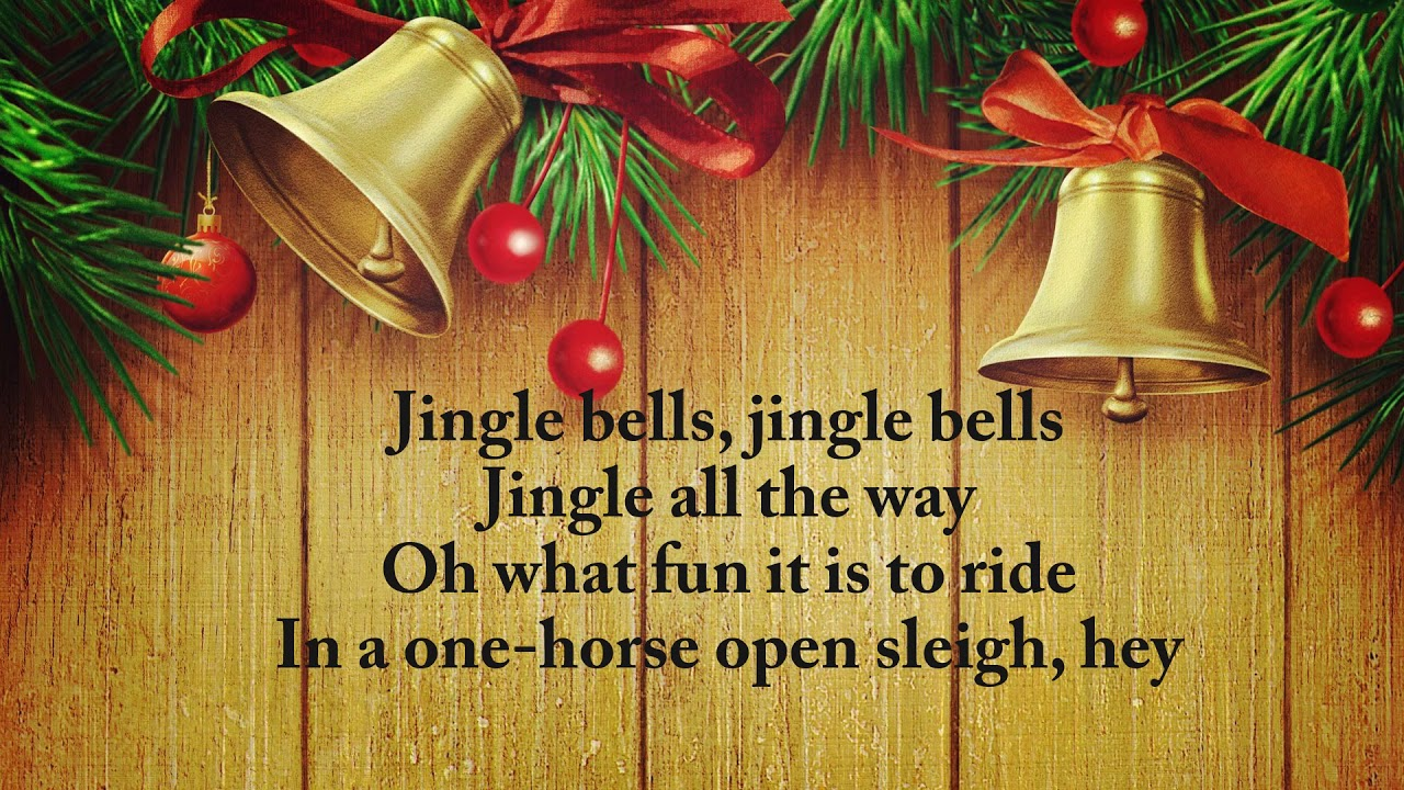 dashing through the snow christmas song jingle bells with lyrics youtube. Black Bedroom Furniture Sets. Home Design Ideas