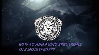 Wondershare Filmora Tutorial : How to make audio waves in 2 mins. [Audio Spectrum]