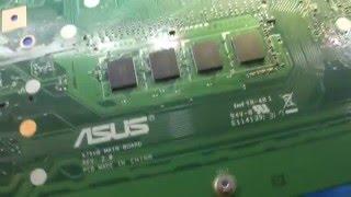 Ремонт ноутбука ASUS x75VB. Отвал хаба.