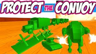 Home Wars Gameplay: ESCORT THE CONVOY CUSTOM BATTLES IN SANDBOX MODE - Let