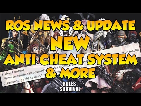 ROS NEWS & UPDATES | ANTI CHEAT SYSTEM, ROS ULTRA, & BYE 8X SCOPE