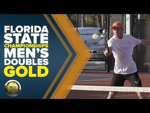 Pro Men's Doubles Gold Medal Match from the Florida State Championships 2017