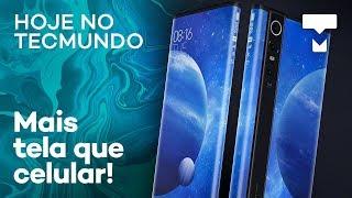 """Xiaomi com """"180% de tela"""", Stadia melhor que consoles – Hoje no TecMundo"""