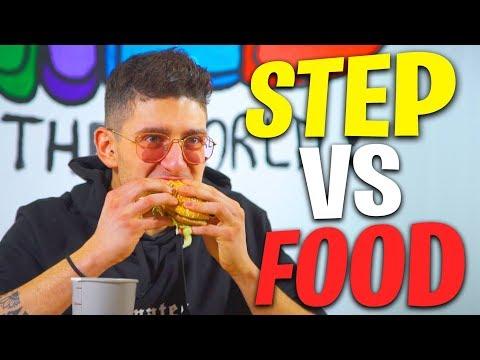 ST3P VS FOOD - 8 BIG MAC , 4500 Kcal