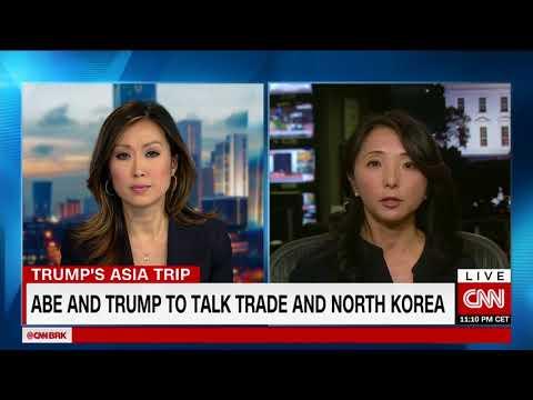 North Korea and trade lead Trump-Abe talks
