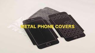 Metal Phone Covers - 360º view