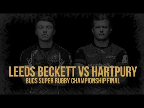 BUCS Super Rugby Championship Final 2019 | Leeds Beckett Vs Hartpury (LIVE From Twickenham)