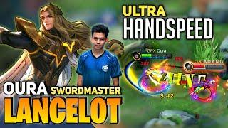 Download Lagu Lancelot New Skin Swordmaster | Ultra Hand Speed Lancelot | By OURA | Mobile Legends mp3