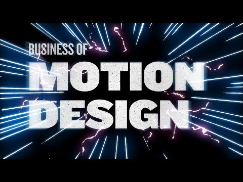 Motion Design Business Discussion: Live Stream