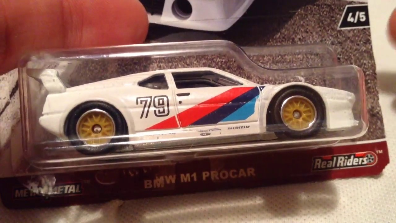 Hot Wheels BMW M1 Procar (2017 Car Culture - Cars & Donuts)