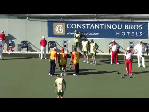 Atlantic Championships 8/12/15 Spain v South Africa Mens Fours