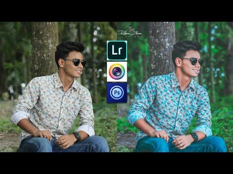 Professional photo edit| Lightroom cc Mobile tutorial |PsTouch Tutorial|Face Clean|Rahman Munna