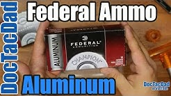 New Ammo - Federal Champion Aluminum 9mm - Ammo Breakdown